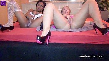 Black and White Three Hole Creampie GangBang!