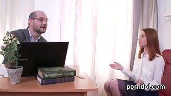 Lovely schoolgirl gets teased and penetrated by her aged teacher