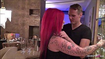 ▶▶ Rothaariges Teen RTL2 Frauentausch Star Red Storm in der Küche gefickt - German Redhead ◀◀