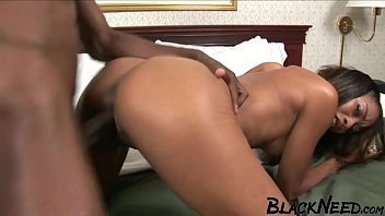 Skinny Black Girl Having Fun with Big Dick!