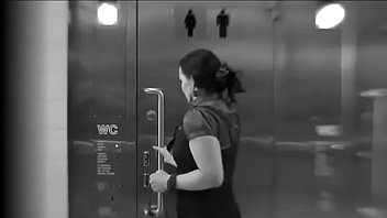 Sexy Huge Pee Desperate Lady Ends Up In Elevator After Failing To Use The Toilet