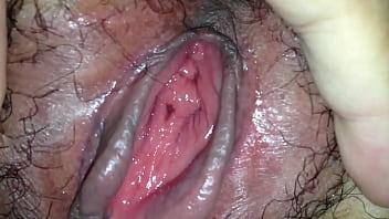 Closedup pussy of my wife