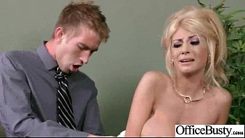 Horny Worker Girl With Big Tits Banged Hard Style In Office (kayla kayden) vid-12