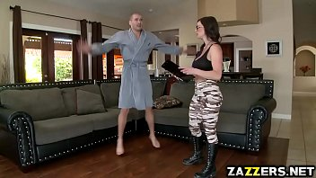 Milf videos porn - Madam sergeant ride xander corvus on top bouncing off