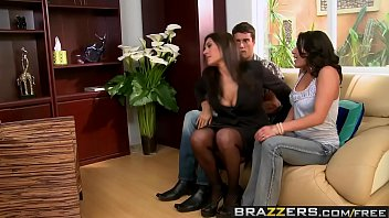 Wifes sister sex stories - Brazzers - real wife stories - threesome therapy scene starring charley chase raylene and ramon