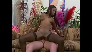 Black girls deep throat white guys Black girl wet pussy deep throat a white guy on brown couch