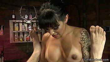 Latina shemale bartender anal bangs guy