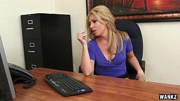 Stevie nicks tits - Sexy milf boss stevie lix seduces young employee