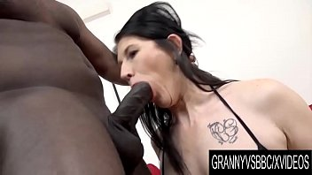 Mature granny blowjob - Granny vs bbc - mature slut niky has her ass pumped full of black seed