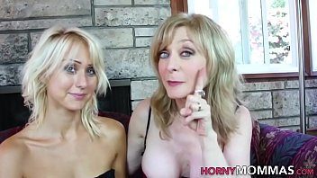 Mature stepmom spanks