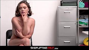 Big Tits MILF Shoplifter Krissy Lynn Anal From Guard After Finding Stolen Battery In Anal Toy