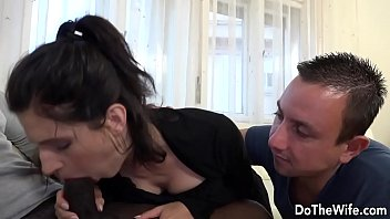 Do black penises taste good Brunette housewife takes a big black dick in her ass