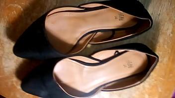 Khloe sister's size 36 flats cumshot