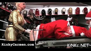 Latex tube video - Two submissive slaves of wicked mistress in latex