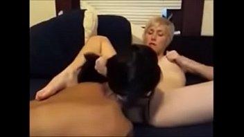 White girl fucks sexy Filipina gf