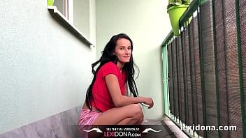 Lexidona - Balcony Pee - Home Made