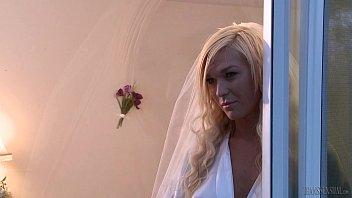 Nick Capra fucks the bride TS Aubrey Kate