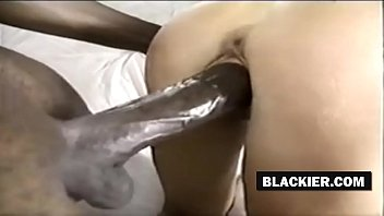 Hot white woman rides black cock