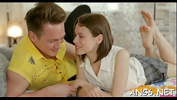 Jerk off vedio Girl is jerking off dudes aroused willy with her mouth