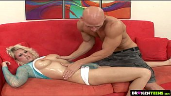 BrokenTeens - Big-Titted Teen Gets Drilled Hard
