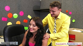 Large professional scans teen Brunette kayla west take cock in the office