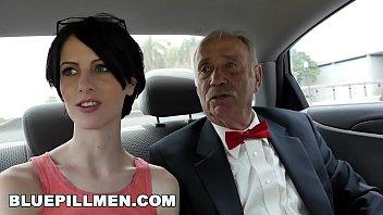 BLUE PILL MEN - Dirty Old Men Stick Their Dirty Old Dicks In Alex Harper&#039_s Ass