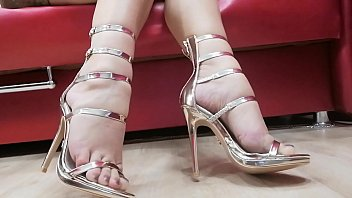 Cum on high heels - Joi - cum on my legs