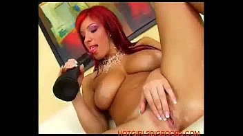 Ashley robbins mad sex party Beautiful big tits redhead plays with a giant dildo