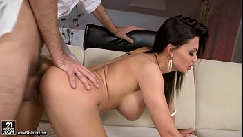 Epic babe Aletta Ocean getting pounded doggy style.FLV