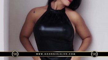 Sexy Babe in Leather |  Good Girls Live