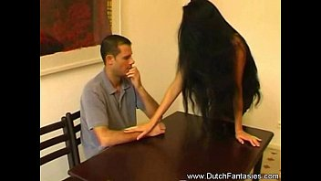 Long Hair Lady Feeling Horny