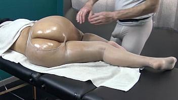 Fetish Stocking Massage Spanking & Masturbate