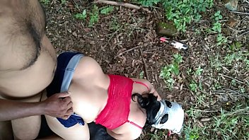 Risky Public Outdoor Painful Sex Relationship Bhabhi