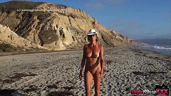 SofieMarieXXX - Irresistible Sofie Marie Teases On The Beach