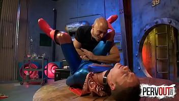 SUPER-BOY GETS COLLARED JESSIE COLTER