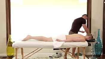Gay transformation muscle - Nextdoorstudios jacked arads massage turns to deep anal drilling