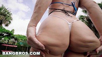 BANGBROS - Charley Hart's Nice Big Ass Is Poolside In A Bikini