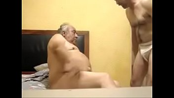 Old gay dady fucked other man