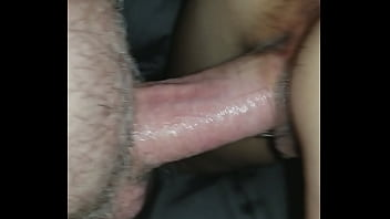Wife'_s wet pussy with thumb in her tight asshole