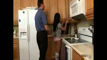Dad tricks his sleepwalking daughter into sucking his dick