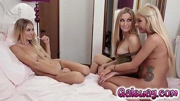 Carmen , Alex , Natalia  having pleasure