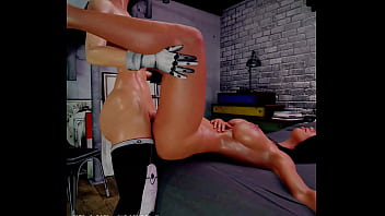 Futa Sex With Ashley Mass Effect Cock With The ring by the way