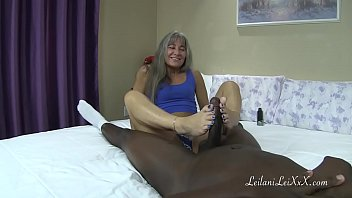 Size 7 Feet vs Big Black Cock TRAILER porn image