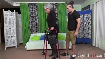 Disabled pussy Horny teen fucks his disabled gandma- kelly leigh