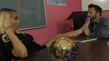 New humiliation tgp - Mean teacher kylie kingston - foot worship facesitting