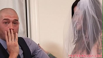 Punkrock bride rides her hubbys dick