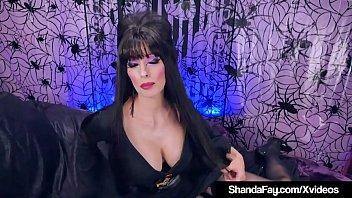 Crazy Canadian Elvira Shanda Fay Creams After Sex!