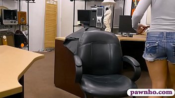 Pretty Woman Banged By Horny Pawn Man At The Pawnshop