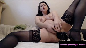 MILF Squirting from Double Penetration, Porn ed: