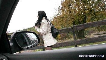 Street hooker bareback fuck
